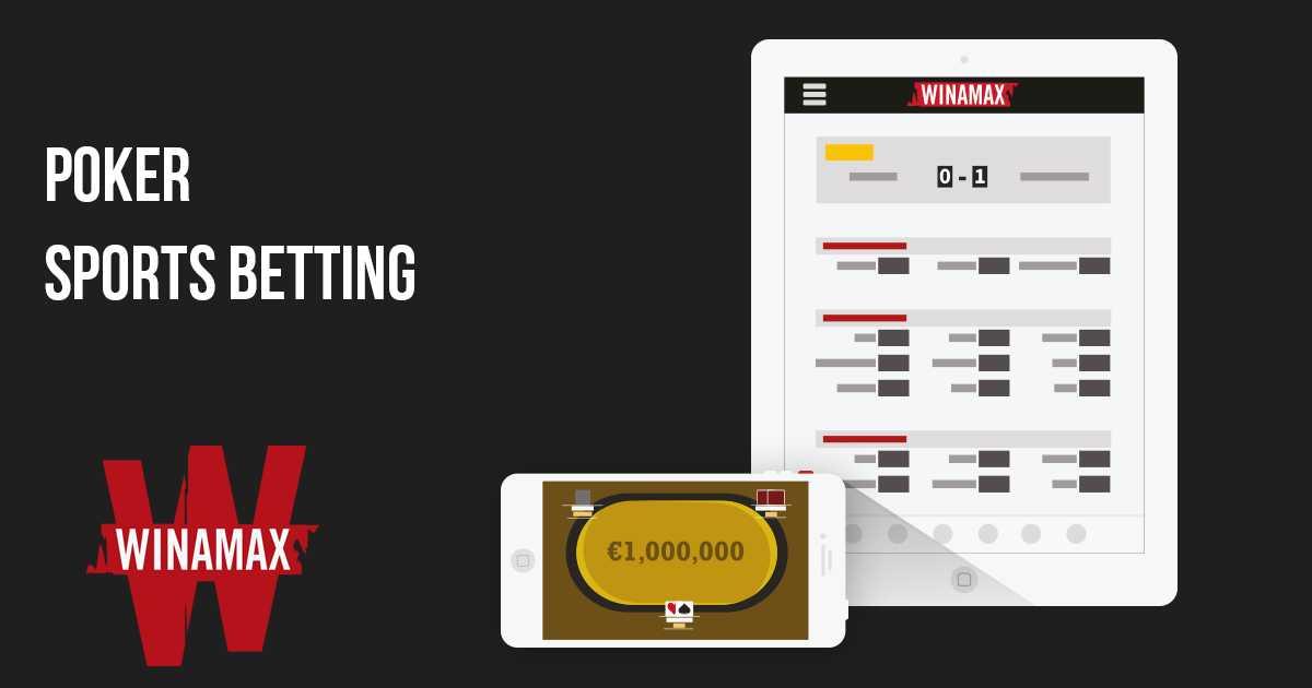 Winamax app casino poker